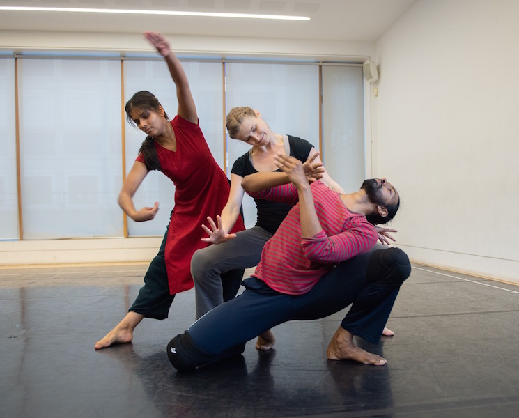 In rehearsal of Rite of Spring | Image credit: Simon Richardson
