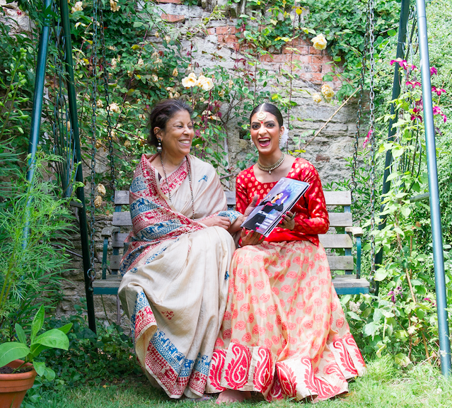 Vidya Patel with Guru Sujata Banerjee | Image credit: Simon Richardson