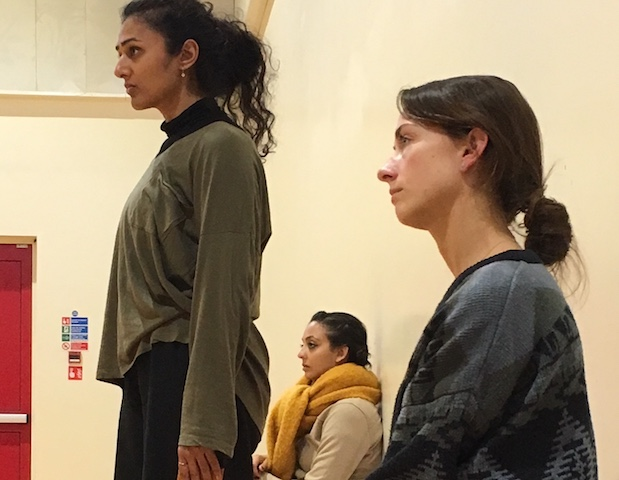 Shivaangee Agrawal, Seeta Patel and Elaine Foley (NYDC)